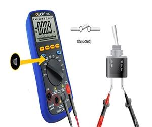 تست اتصال کوتاه با مولتی متر