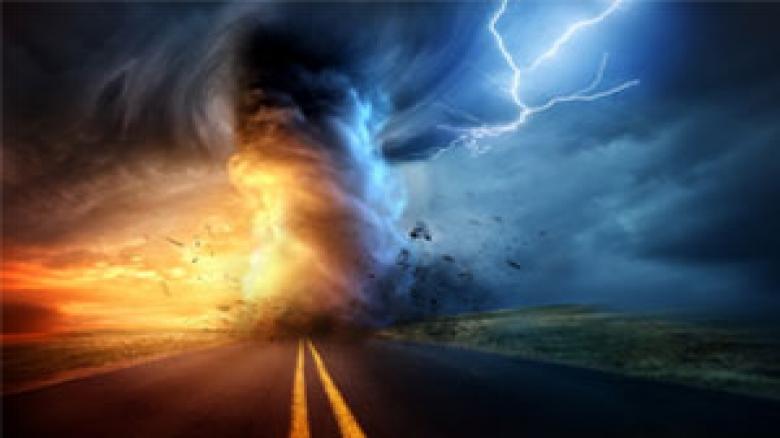 پیش بینی قطعی برق ناشی از طوفان